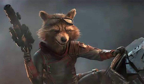 Bradley Cooper as Rocket in Avengers: Endgame