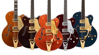 Gretsch electric guitars