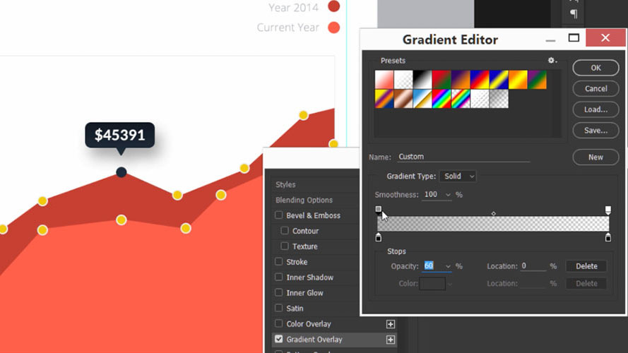 Learn all about UI design with this Photoshop course