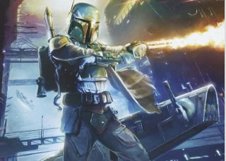 """""""Star Wars"""" illustrator Brian Rood will bring to life """"Star Wars: War of the Bounty Hunters"""" issue 1."""