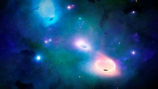 The rogue black holes could make up 10% of the universe's total black hole mass.