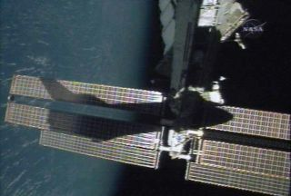 Shuttle Crew to Undock from Space Station Tonight