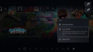 How to turn off PS5