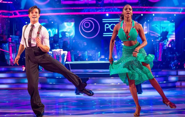 """Danny and Oti scored 38 points for their """"sharp, stylish"""" jive"""