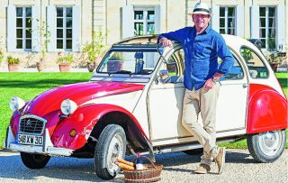 James Martin channels Keith Floyd as he eats and drinks his way through France in Floyd's old 2CV...