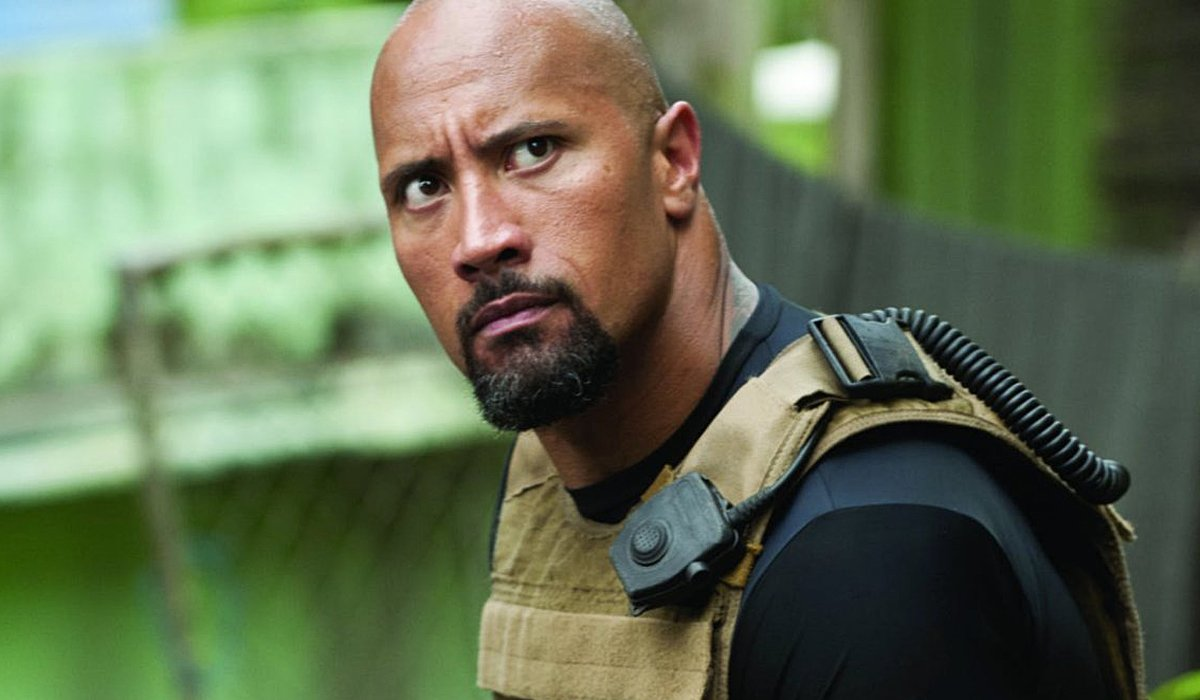 The Rock in Fast and Furious movies