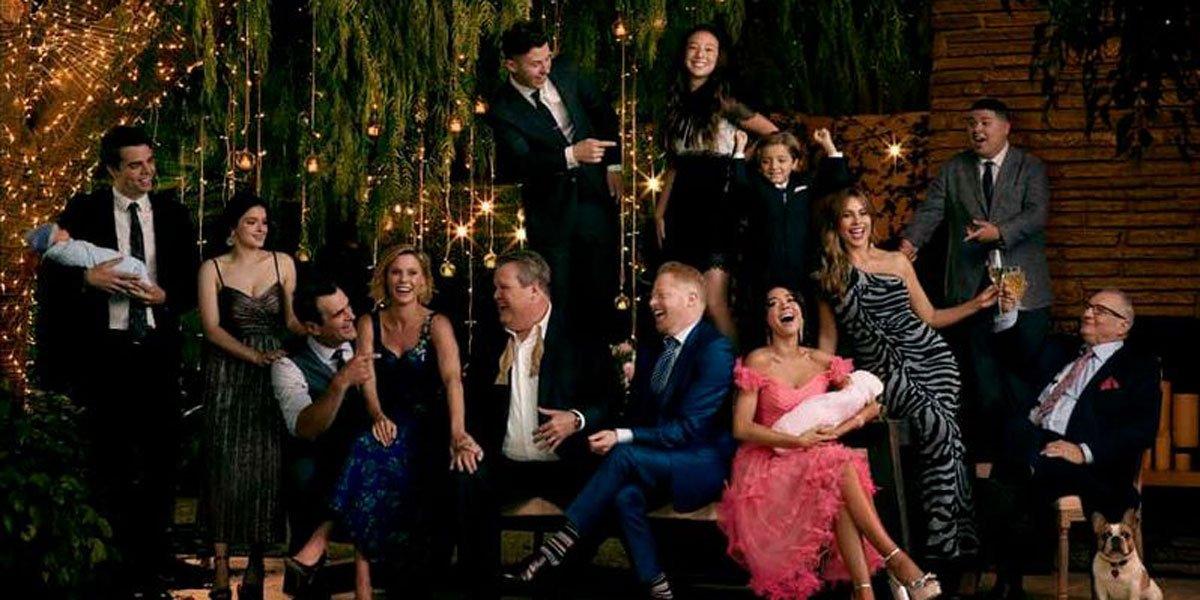 Modern Family full cast in 2020 on ABC