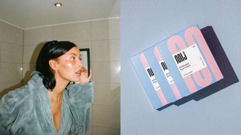 Maya Jama MIJ Masks packaging