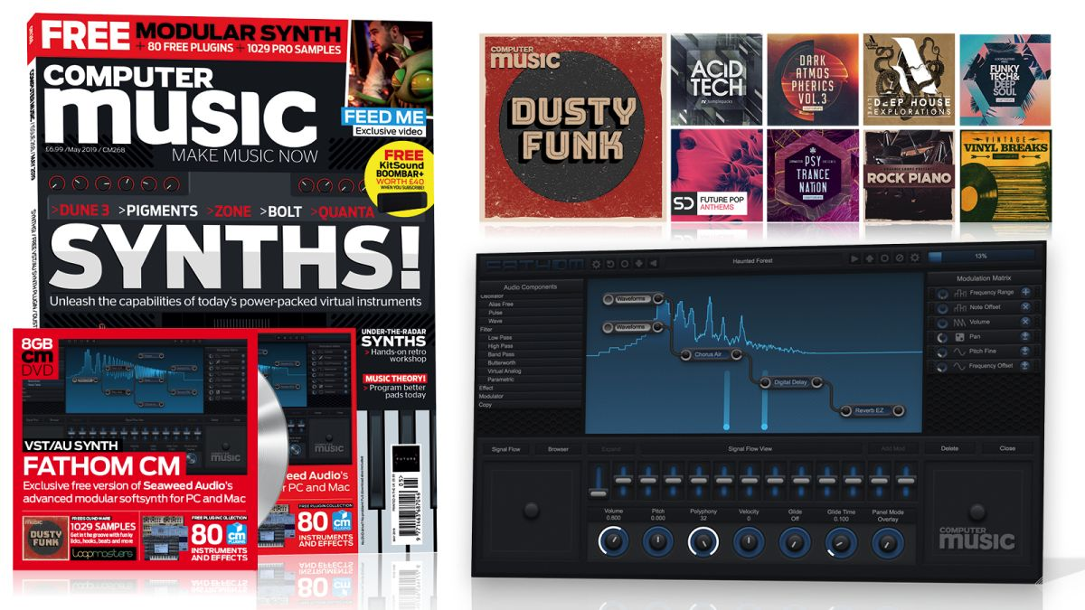 SYNTHS 2019 – Computer Music issue 268 is out now! | MusicRadar