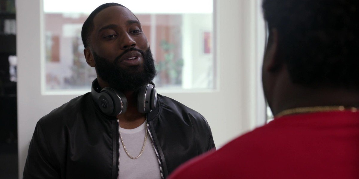 John David Washington in Ballers