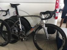 Marcel Kittel's bike for stage 2 of the Abu Dhabi Tour