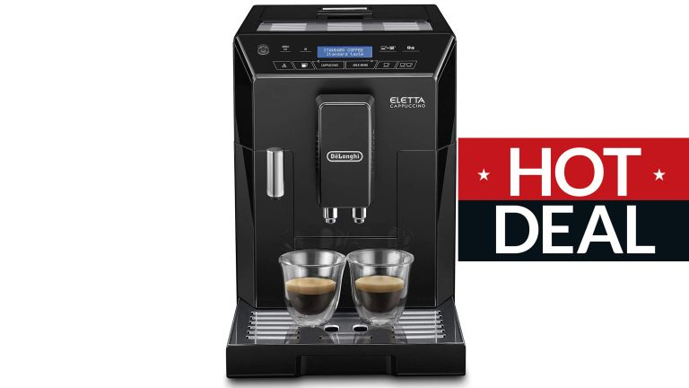 De'Longhi Eletta Fully Automatic Bean to Cup Coffee Machine