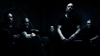 A press shot of Meshuggah taken in 2016