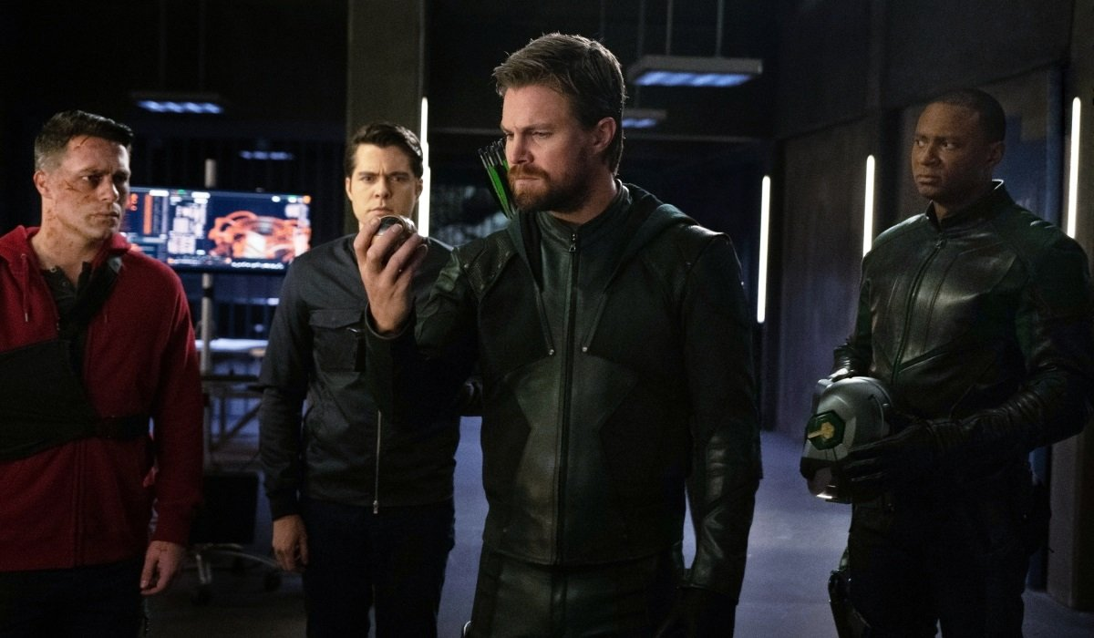 Oliver Queen Arrow The CW