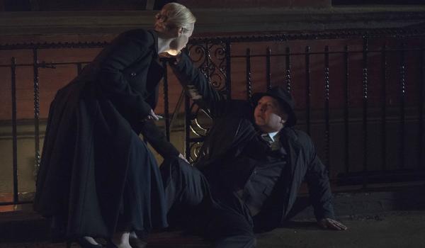 "The Blacklist Katarina Rostova Laila Robins Raymond ""Red"" Reddington James Spader NBC"