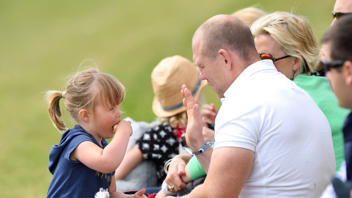 Mike Tindall shares a candid photograph of Prince Philip and great-granddaughter Mia Tindall - and it's such a beautiful moment