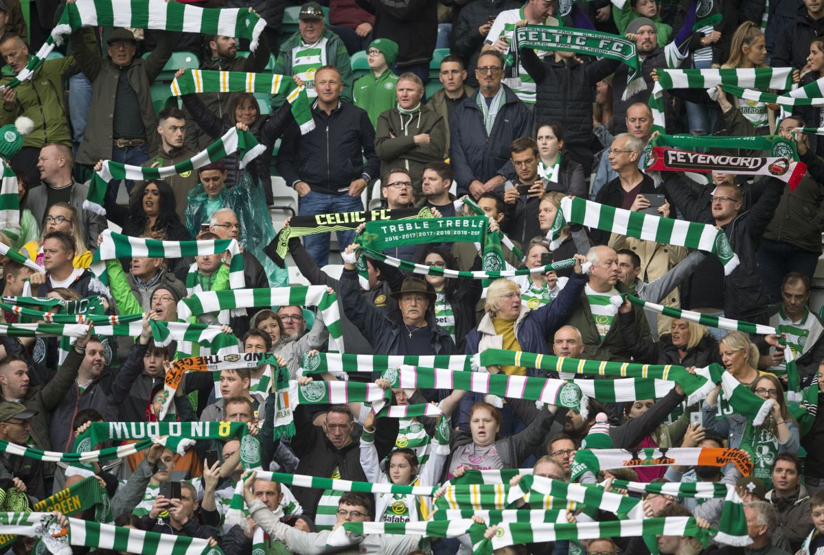Celtic and Rangers cleared to have capacity crowds from next week