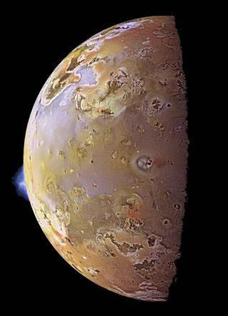 Plumes on Io
