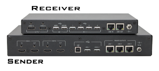 Hall Research Introduces Dual-Head HDMI and USB KVM Extender