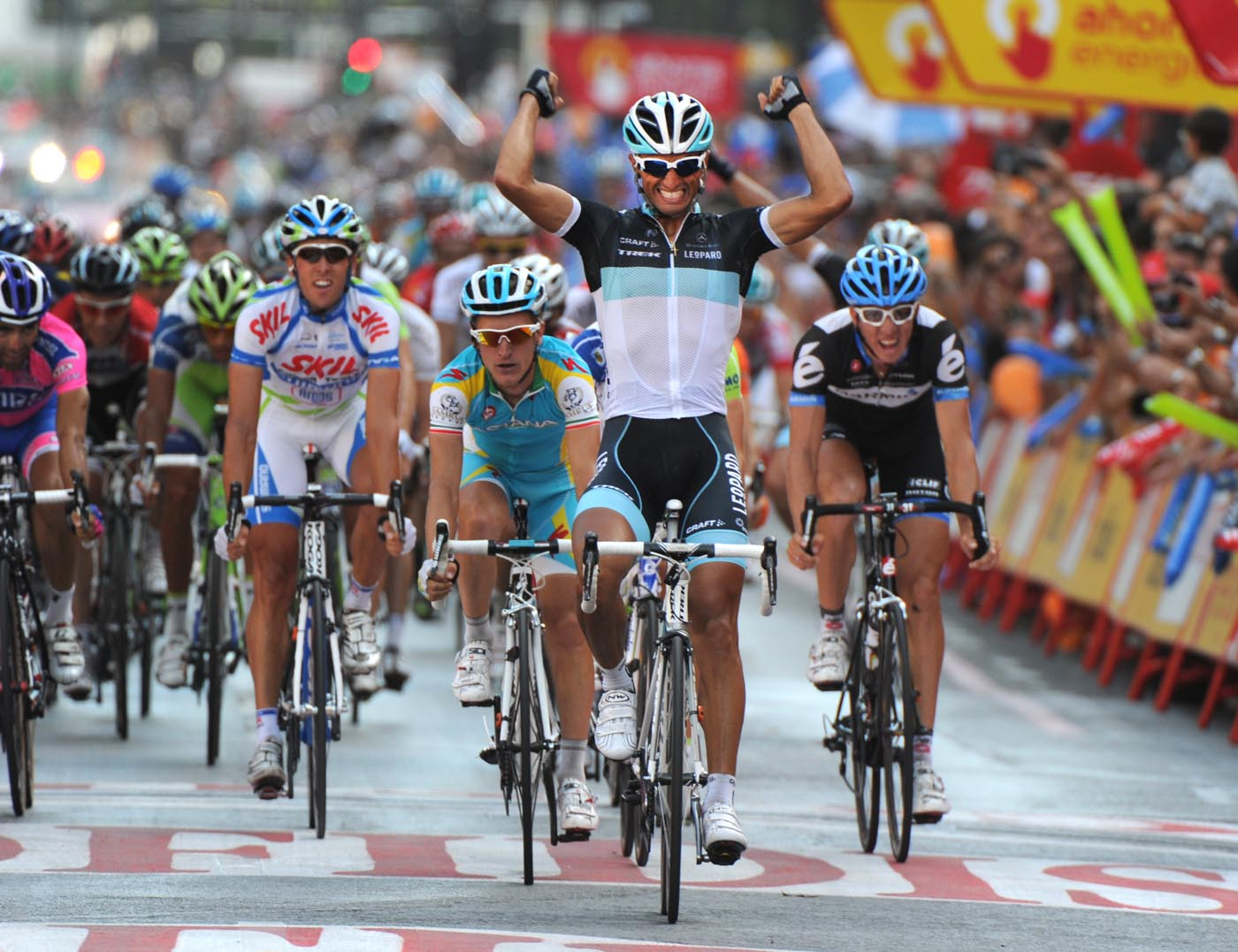 Daniele Bennati wins, Vuelta a Espana 2011, stage 20