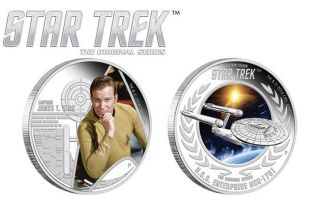 Tuvalu 'Star Trek' Commemorative Coins
