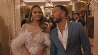 chrissy tiegen and john legend stole the show in Super Bowl 2020 commercials