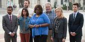 Watch Parks And Rec Stars Reunite In The Weirdest Way On Netflix's Wet Hot American Summer Sequel