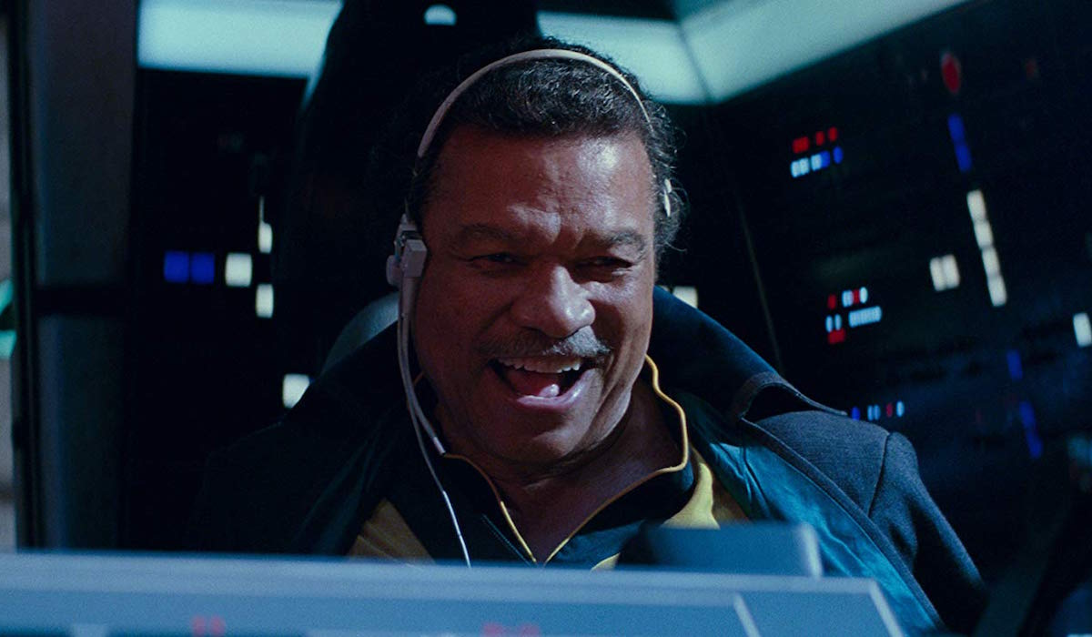 Lando Calrissian in Star Wars: The Rise of Skywalker