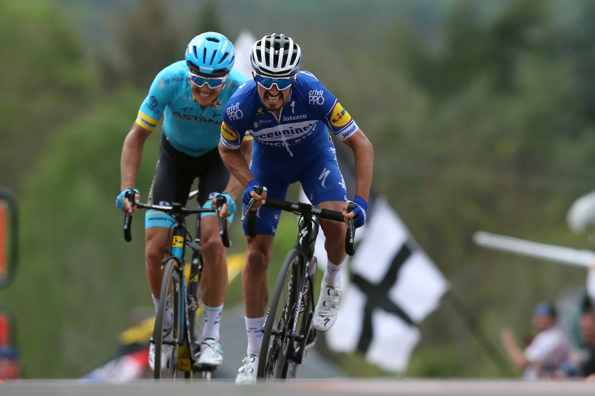 'Julian Alaphilippe is too strong': Jakob Fuglsang misses ...