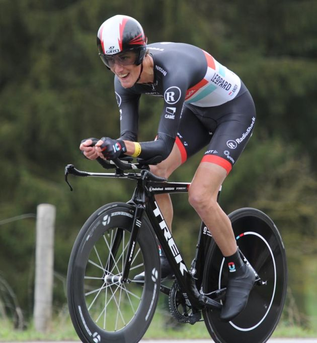 Andy Schleck, Paris-Nice 2012, stage one