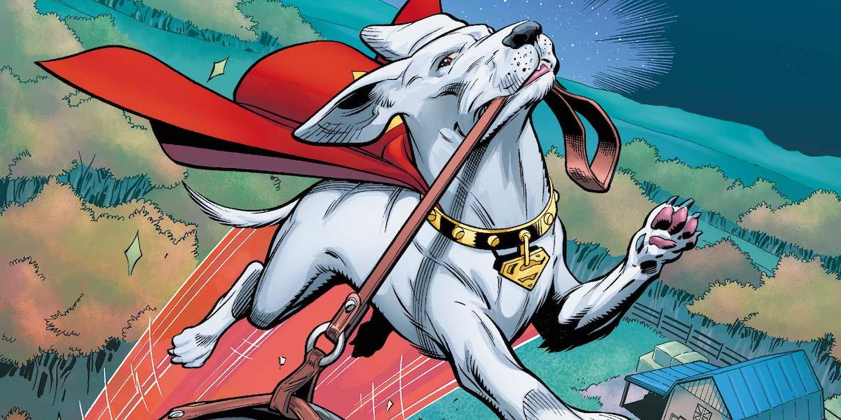 Krypto the Superdog DC Comics