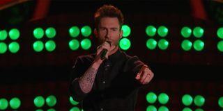 Adam Levine performing Tiny Dancer on The Voice