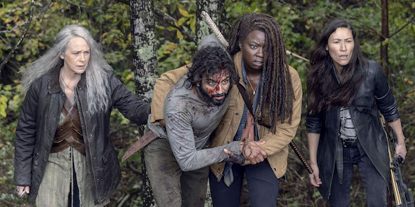 THE WALKING dead siddiq hurt from alpha