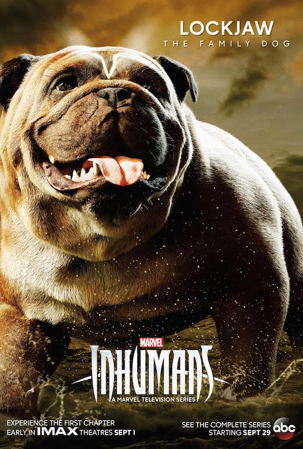 Lockjaw Inhumans