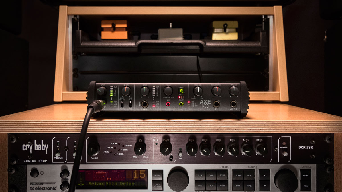 NAMM 2019: Is IK Multimedia's AXE I/O the high-end audio interface guitar players have been waiting for?