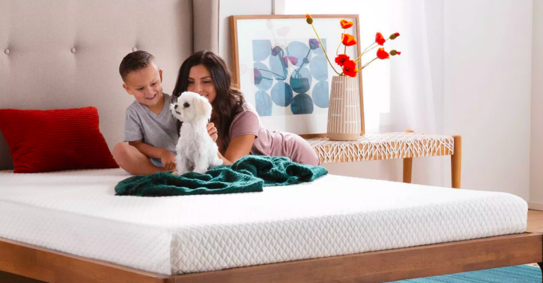 Memory foam mattress topper deal