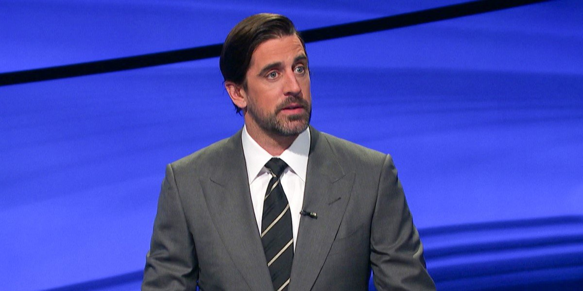 aaron rodgers on jeopardy on the conners