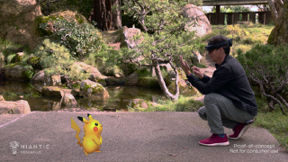 Pokemon Go HoloLens proof of concept video