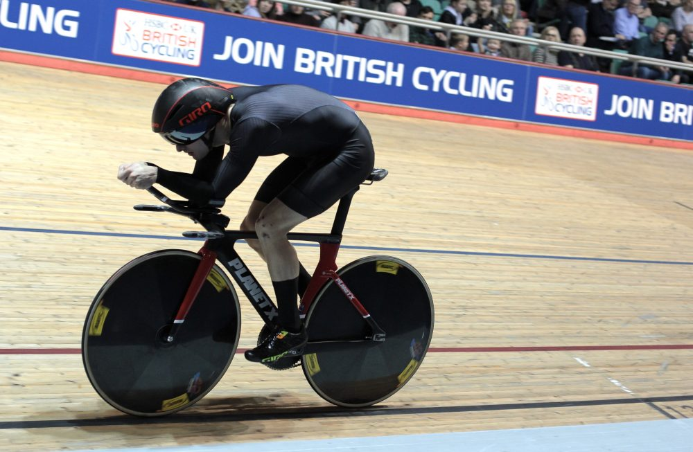 Dan Bigham at the National Track Championships (By Dean Reeve Photography)