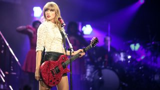 Taylor Swift performs in Omaha, Nebraska in 2013