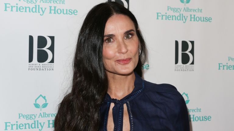 Demi Moore attends the 'Friendly House' 30th annual awards luncheon at The Beverly Hilton Hotel on October 26, 2019 in Beverly Hills, California