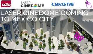 Christie Partners With D3D For Giant Dome Installation
