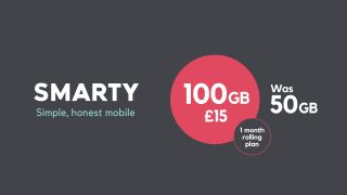 Big Sim Only Deal Smarty Is Offering 100gb Data For 15 A Month Right Now Gamesradar
