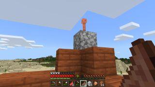Minecraft 1.17 Lightning Rod