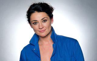 Moria, played by Natalie J Robb in Emmerdale