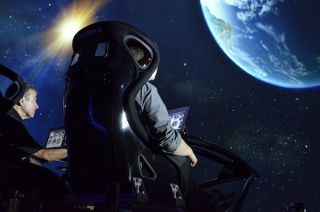 Holovis Showcases Dual Seat MotionDome at IAAPA 2013