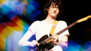 Jimmy Page plays his B-Bender