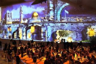 Christie Projection Mapping Showcase Dead Sea Scrolls at Science Center Gala