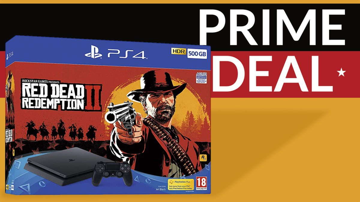 feb7cfea405d8 Amazon Prime Day: Sony PS4 + Red Dead Redemption 2 bundle hits ...