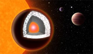Planet 55 Cancri e was believed to be the first known planet to consist largely of diamond, due in part to the high carbon-to-oxygen ratio of its host star. New research challenges that precious picture.
